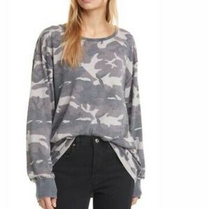 We The Free Arielle Camo Printed Longsleeved Tee